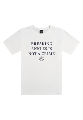 Breaking Ankles Tee - white