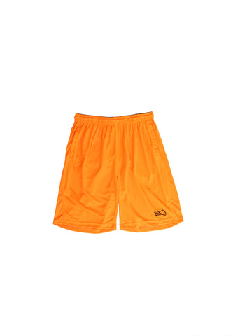 New Micromesh Shorts - orange