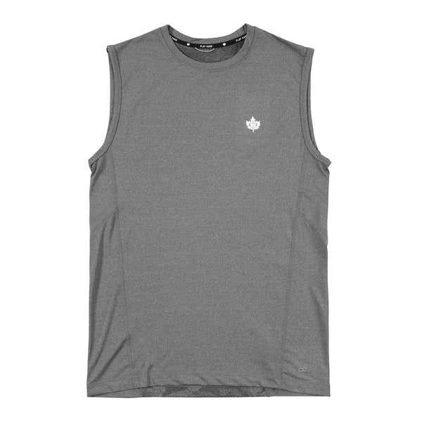 Core Compression Sleeveless - grey heather