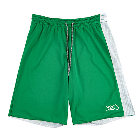 Hardwood Reversible Game Set - green/white