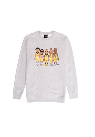 LT Dynasty Crewneck - light grey heather