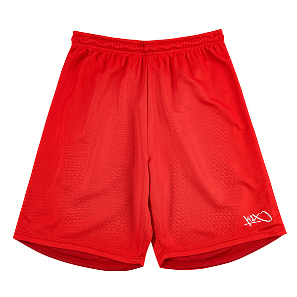 anti gravity shorts - major red