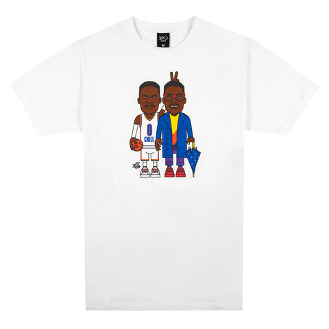 LT Double Trouble Tee - white