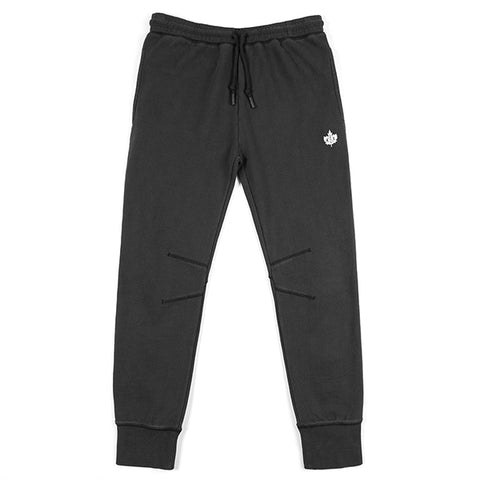 Washed Authentic Sweatpants - black