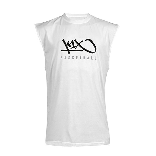 k1x hardwood sleeveless tee mk3 - white