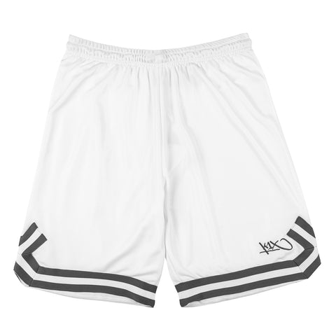 hardwood double x shorts - white/anthracite