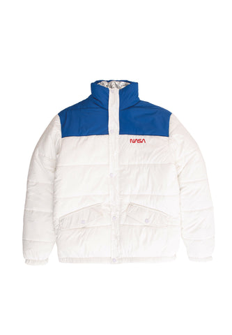 NASA Rev Puff Jacket - white