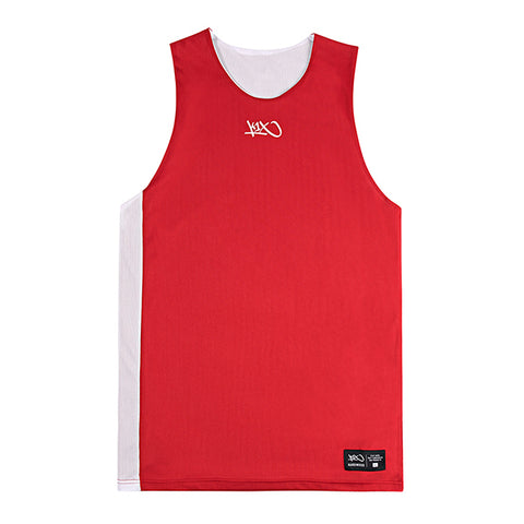 Hardwood Reversible Game Set Jersey - red/white