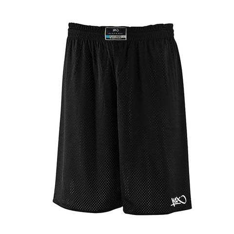 k1x hardwood rev practice shorts mk2 - black/white