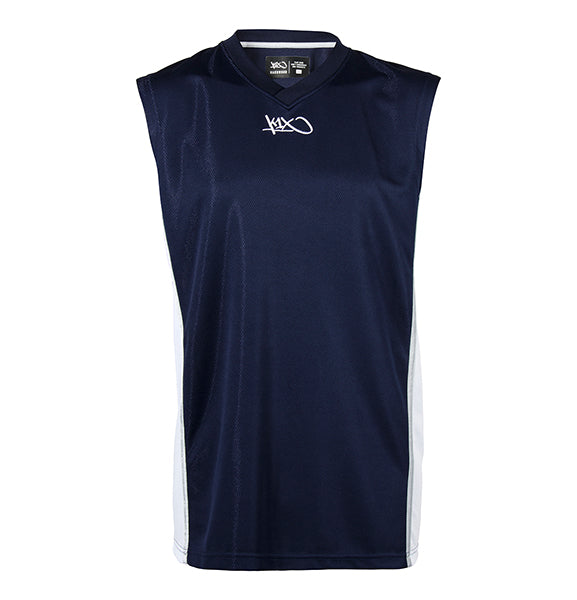 k1x hardwood league uniform jersey mk2 - navy/white/silver