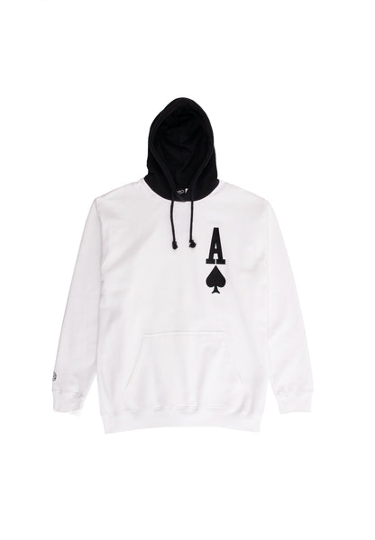 Ace Hoody - white