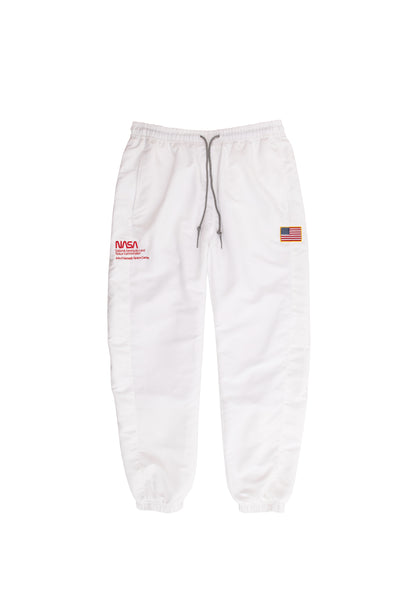 NASA Sports Track Pants - white
