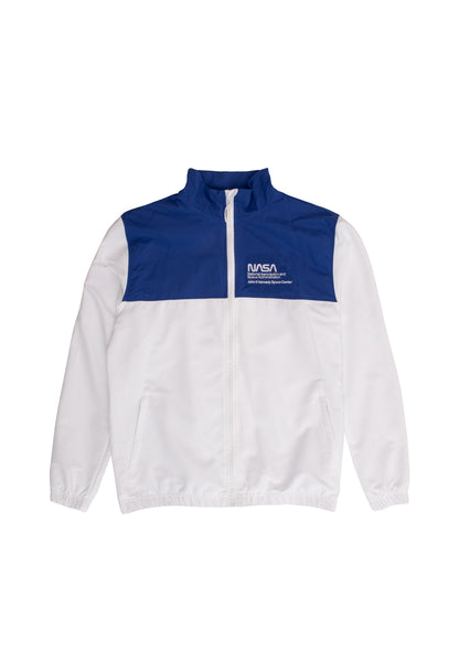 NASA Track Jacket - white