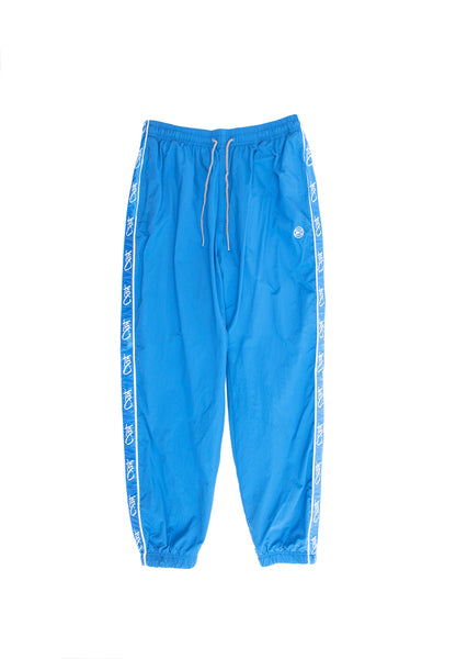 Tag Panel Pants - lapis blue