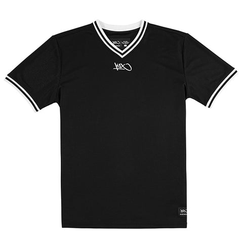 hardwood double x shooting shirt - black/white