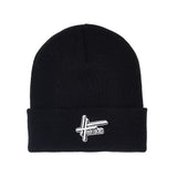 High Focus Deluxe Logo Beanie // Black
