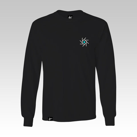 Edward Scissortongue + Lamplighter - 'CSD' Black Long Sleeve T Shirt