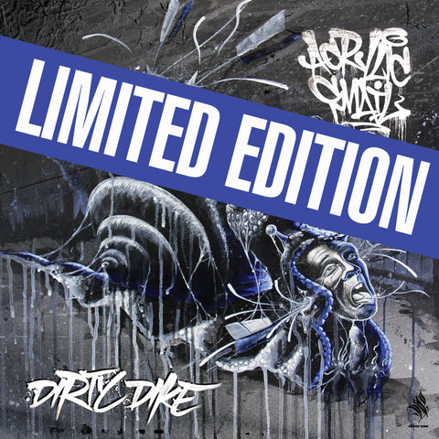 Dirty Dike - Acrylic Snail (LIMITED EDITION VINYL + 16 PAGE BOOK PRE ORDER)