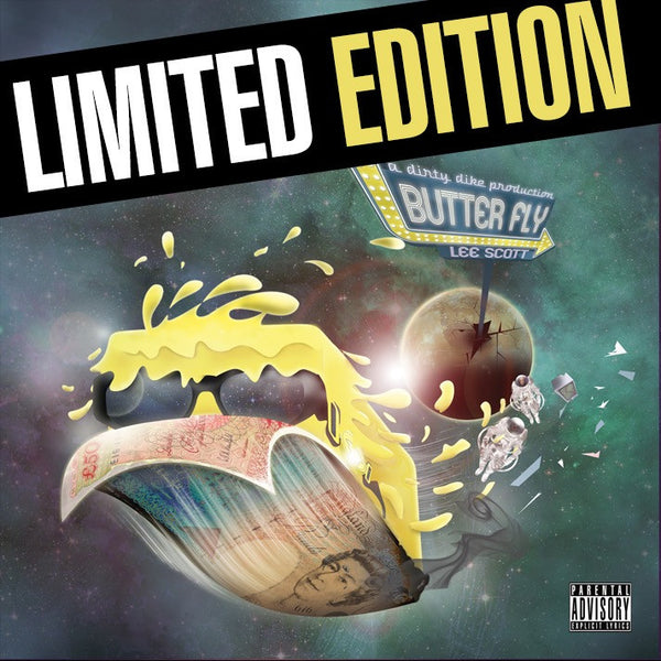 Lee Scott - Butter Fly (Prod. Dirty Dike) (LIMITED EDITION VINYL)