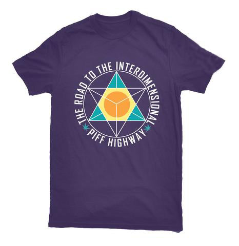 Fliptrix - 'The Road To The Interdimensional Piff Highway' T Shirt