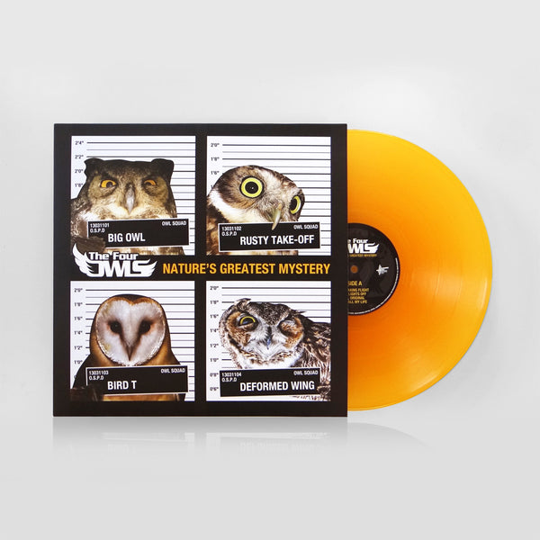 The Four Owls - Nature's Greatest Mystery (TRANSPARENT ORANGE DOUBLE VINYL)