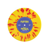 "Fliptrix - 'Powerizm & Holy Kush' Yellow / Red single (LIMITED EDITION 7"" VINYL)"