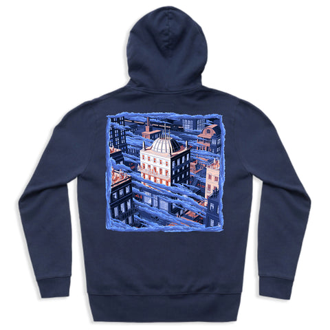 Verb T & Illinformed - 'The Land Of The Foggy Skies' Hoodie