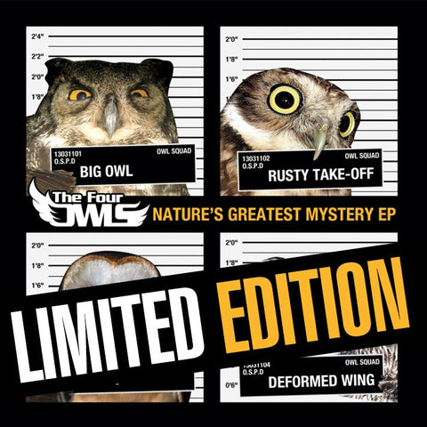The Four Owls - Nature's Greatest Mystery EP (VINYL)
