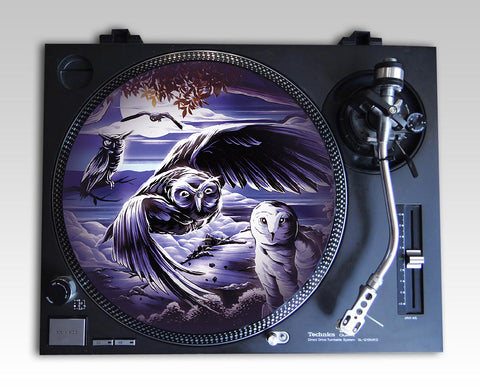 The Four Owls - 'Nocturnal Instinct' Slipmats (Pair)