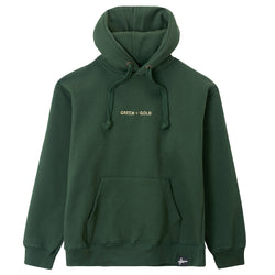 Mr Key & Greenwood Sharps - Green & Gold Hoodie