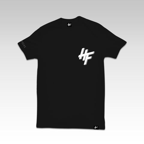 High Focus - HF Chunk T Shirt // Black