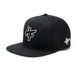 High Focus Chunk Snapback // Black