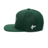High Focus Chunk Snapback // Forest Green