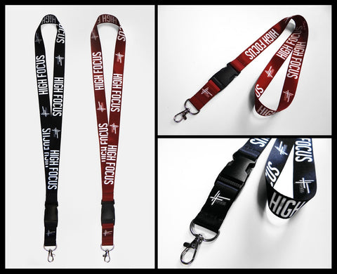 High Focus Lanyard // (Double Pack)