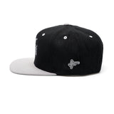 High Focus - Black/Silver Snapback Hat