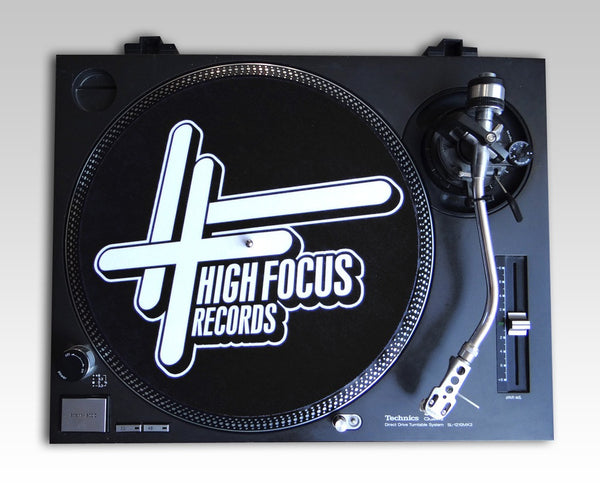 High Focus Records Slipmats (Pair)