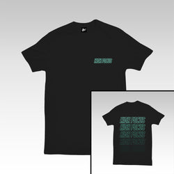 High Focus - Type T Shirt // Black
