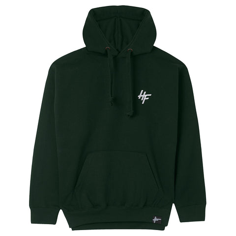 High Focus - Chunk Hoodie // Forest Green