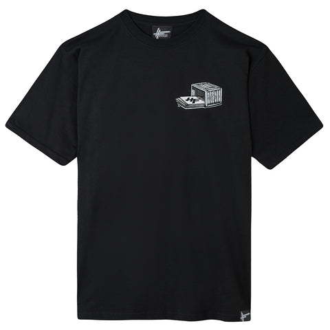 High Focus - Crate Diggers T Shirt // Black