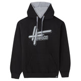 High Focus - Logo Hoodie // Black / Grey