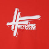 High Focus Red // White T-Shirt