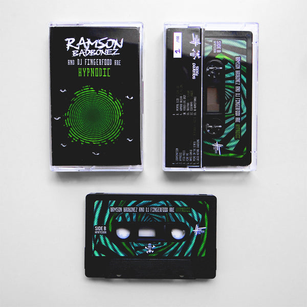 Ramson Badbonez & DJ Fingerfood - Hypnodic (LIMITED EDITION CASSETTE TAPE)