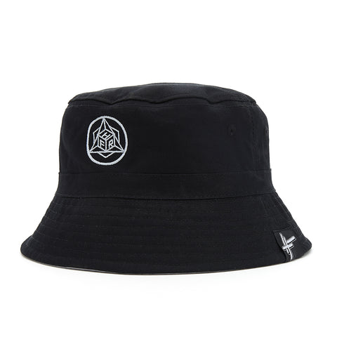 High Focus - Black Geo Bucket Hat