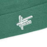 High Focus - Deluxe Logo Beanie // Moss Green