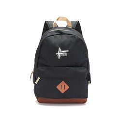High Focus - Logo Backpack // Black
