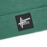 High Focus - Moss Green Beanie