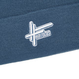 High Focus Deluxe Logo Beanie // Air Force Blue