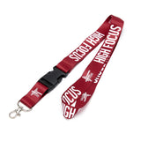 High Focus Lanyard // Burgundy