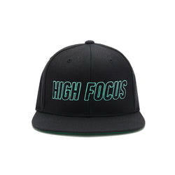 High Focus - Type Snapback // Black