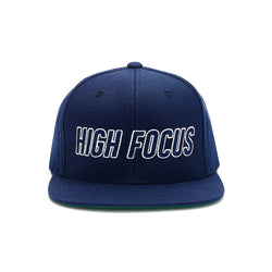 High Focus - Type Snapback // Navy